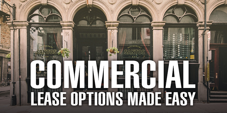 Commercial Lease Options Made Easy